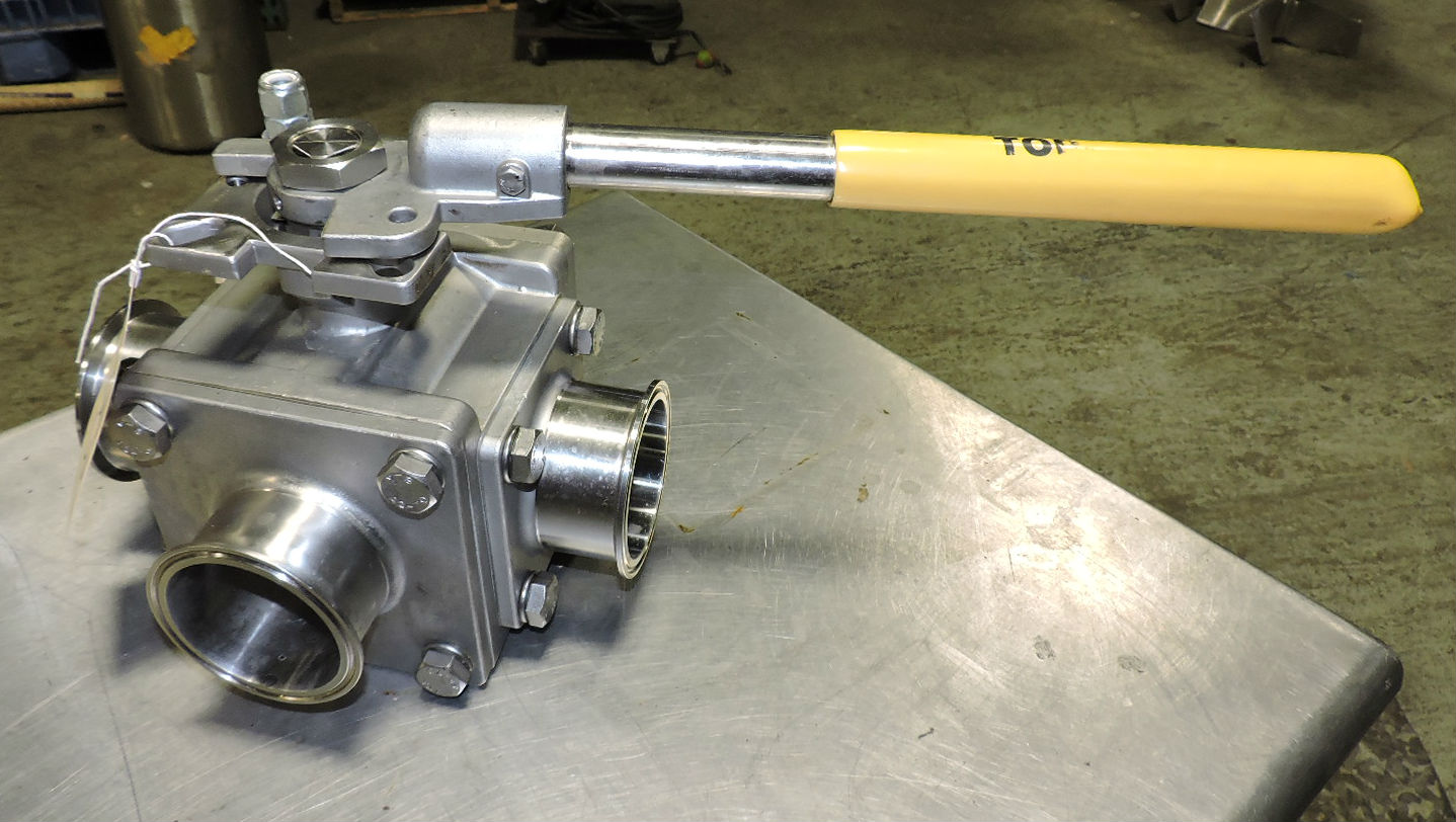 Sanitary Valves Influencing the Beverage and Food Processing Sector